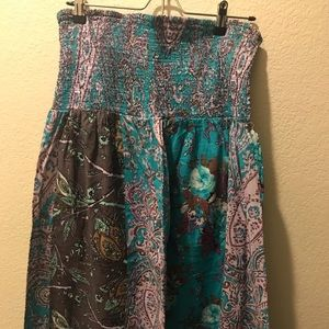 Plus size maxi dress from target